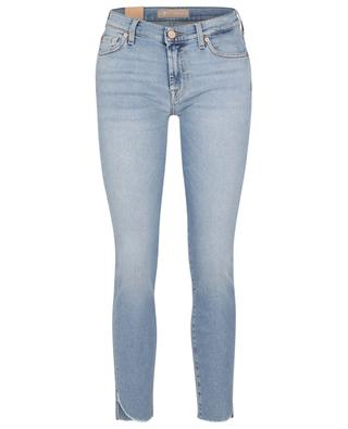 The Skinny Crop Luxe Vintage Bright Side raw edge jeans 7 FOR ALL MANKIND