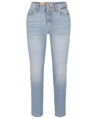 Roxanne Ankle Luxe Vintage Bright Side distressed slim fit jeans 7 FOR ALL MANKIND