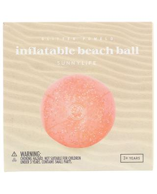 Glitter Pomelo inflatable beach ball SUNNYLIFE