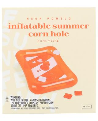 Aufblasbares Wurfspiel Corn Hole Neon Pomelo SUNNYLIFE