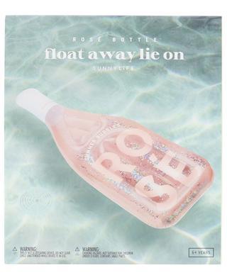 Float Away Lie On Rainbow inflatable mattress SUNNYLIFE