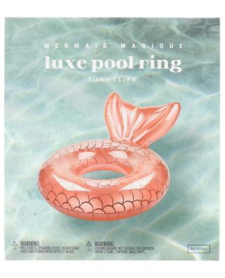 Luxe Mermaid Magique pool ring SUNNYLIFE