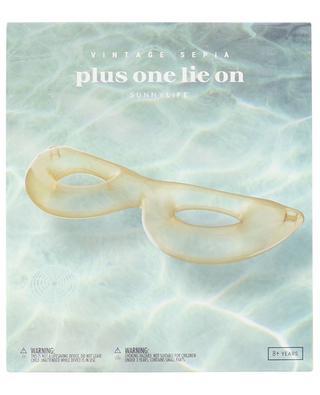 Luftmatratze für 2 Plus One Lie On Vintage Sepia SUNNYLIFE