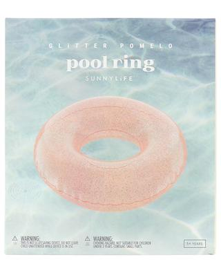 Glitter Pomelo pool ring SUNNYLIFE