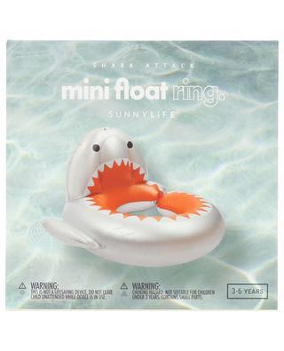 Kinder-Schwimminsel Shark Attack Mini Float Ring SUNNYLIFE