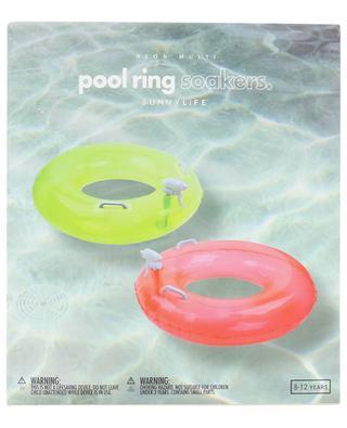 Poolring-Set mit Spritzpistole Neon Multi SUNNYLIFE