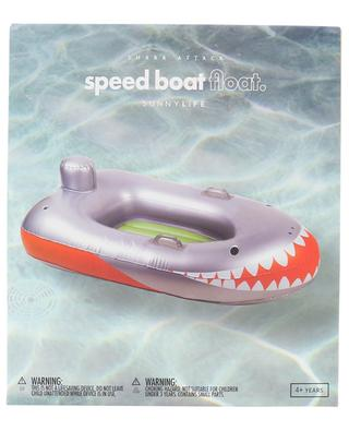 Kinder-Luftmatratze Shark Attack Speed Boat Float SUNNYLIFE