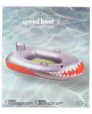 Shark Attack Speed Boat Float children's inflatable mattress SUNNYLIFE