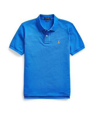 Pony Custom Slim fit boys' cotton piqué polo shirt POLO RALPH LAUREN