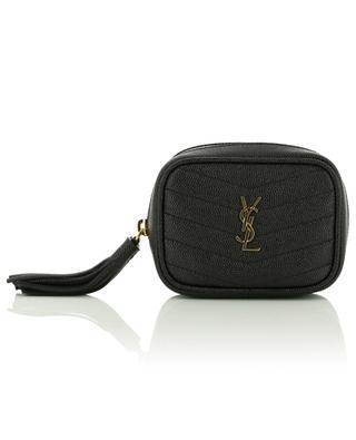 Baby Lou mini belt bag in grain de poudre leather SAINT LAURENT PARIS