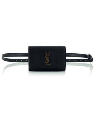 Sac ceinture en cuir texturé Kate Mini SAINT LAURENT PARIS