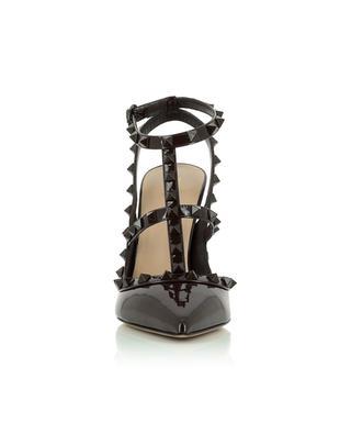 Escarpins multi-brides en cuir verni Rockstud 100 VALENTINO
