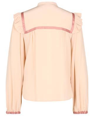 Ruffle bib silk blouse SEE BY CHLOE