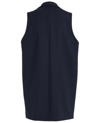 Sleeveless long vest PIAZZA SEMPIONE