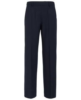 Wide leg wool blend trousers PIAZZA SEMPIONE