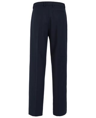 Wide leg wool blend trousers PIAZZA SEMPIONE