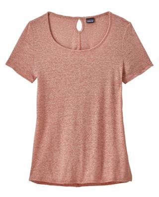 Linen and polyester T-shirt PATAGONIA
