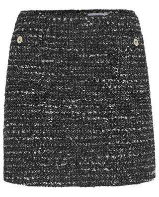 A-förmiger Minirock aus Tweed Pupo IBLUES