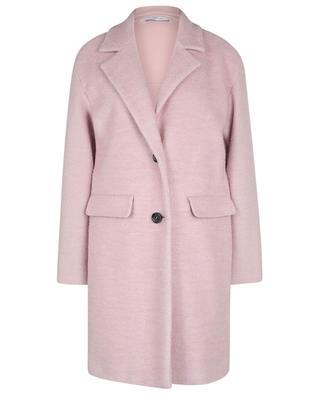 Manteau court en laine et mohair IBLUES