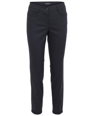 Pantalon en coton mélangé imprimé Renira CAMBIO