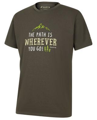 T-Shirt aus Baumwollmix R9 Travel RADYS