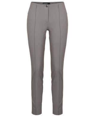 Pantalon slim sans ceinture en gabardine Ros CAMBIO