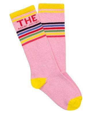 Mädchen-Socken mit Logo und Streifen THE MARC JACOBS