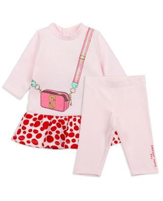 Snapshot baby set with leggings and dress THE MARC JACOBS
