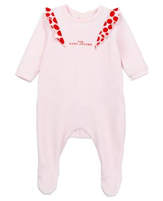 Baby all-in-one with printed ruffles THE MARC JACOBS