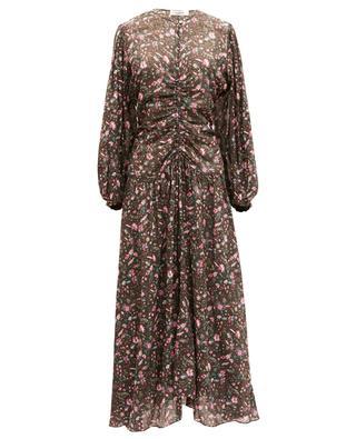 Robe fleurie longue en voile de coton Mariana ISABEL MARANT ETOILE