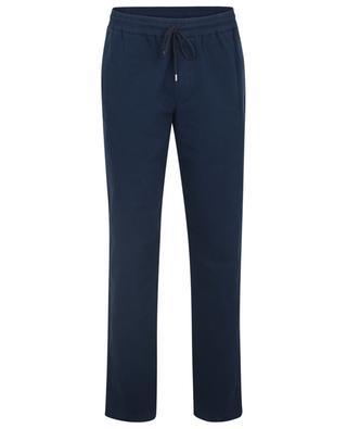 Pantalon en gabardine à taille élastiqueé New Kaplan A.P.C.