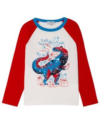 Langarm-Jungen-T-Shirt Dinosaur THE MARC JACOBS