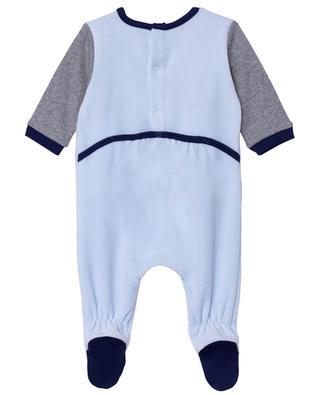 THE MASCOT adorned logo print baby pyjamas THE MARC JACOBS