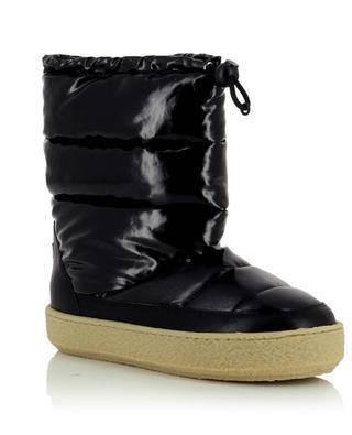 Zerik vinyl effect snow booties with leather ISABEL MARANT