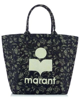Yenky flower printed canvas tote bag ISABEL MARANT