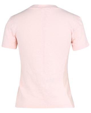 T-shirt ajusté à col rond en coton flammé Sonoma AMERICAN VINTAGE
