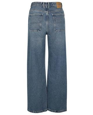 Busborow Blue Dirty denim straight fit baggy jeans AMERICAN VINTAGE
