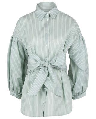 Gestreiftes Hemd mit Puffärmeln und Gürtel Baleari WEEKEND MAX MARA
