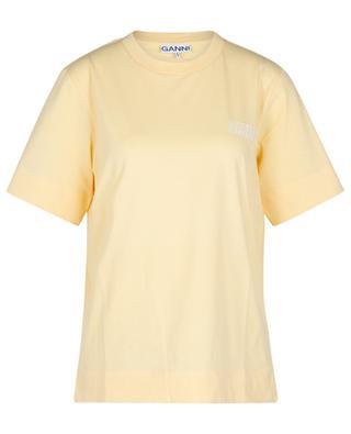 Kurzarm-T-Shirt mit Logoprint Thin Software GANNI