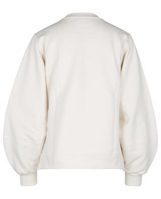 Rundhals-Sweatshirt mit Puffärmeln SOFTWARE ISOLI GANNI