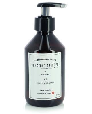 Gel désinfectant Eau d'Agrumes - 250 ml POZENE