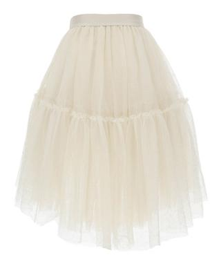 Tulle skirt with sequins for girls MONNALISA