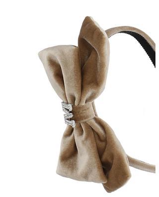 Velvet headband for girls MONNALISA