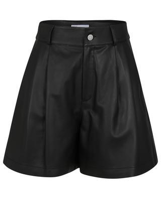 Weite Shorts mit hohem Bund aus Lammleder RED VALENTINO