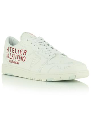 Atelier 07 Camouflage Edition low-top lace-up leather sneakers VALENTINO
