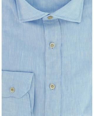 Luxury Vintage long-sleeved linen shirt LUIGI BORRELLI