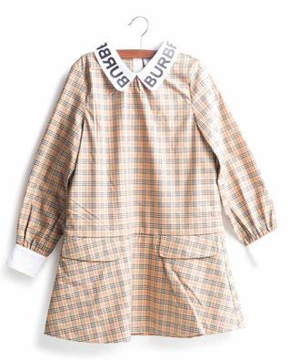 Robe fille en coton à carreaux Alicia BURBERRY
