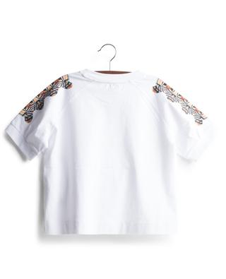Gracie printed raglan sleeve boxy girls' T-shirt BURBERRY