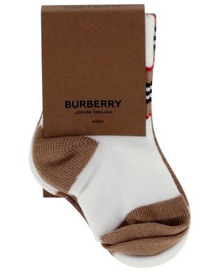 Icon baby socks BURBERRY