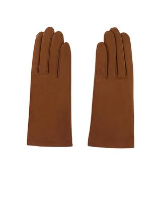 Leather gloves AGNELLE